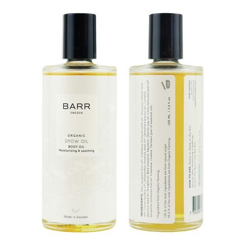 Snow oil - organikus testolaj, 100 ml
