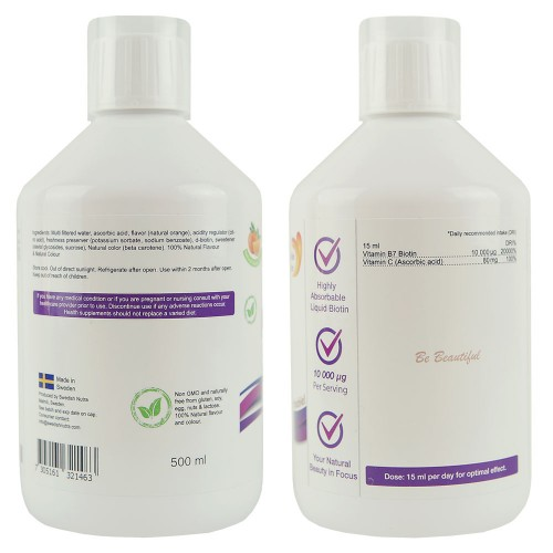 Biotin C-vitaminnal, 500 ml