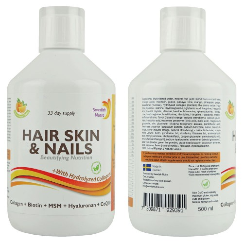 Haj, bőr és köröm vitamin, 500 ml