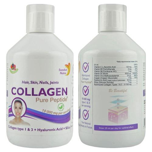 Kollagén folyadék szarvasmarhából 10000 mg - az egészséges izületekért 500 ml